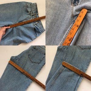 Vintage Jeans - Vintage light wash high waist mom jeans